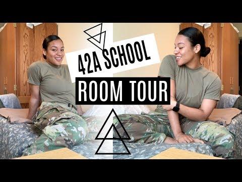 ARMY BARRACKS ROOM TOUR 2019 - MOS 42A
