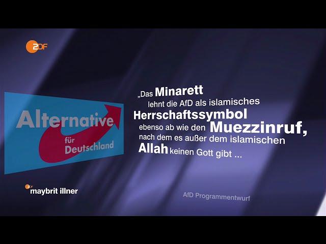 Gauland AfD: Der Islam gehört nicht zu Deutschland 21.04.2016 Maybrit Illner - Bananenrepublik