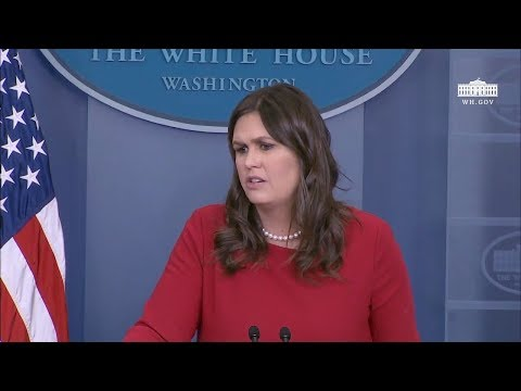 Sarah Huckabee Sanders Nearly Melts Down When Asked About Police Killings Of African Americans