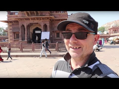 Sightseeing Jodhpur Palace & Market Rajasthan India vlog 12 Travel Video in English for Youtube