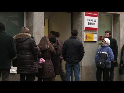 Spain ends 2013 with jobless rate above 26%
