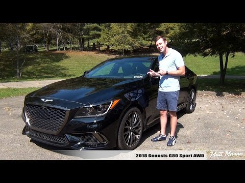 Review 2018 Genesis G80 Sport AWD