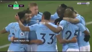 Manchester city vs Tottenham 4-1 Highlights/ goals Arabic Commentary