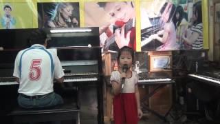 Lớp học Thanh nhạc cho các bé Mầm non quận Tây Hồ đt 0946836968 Mai Gia Linh 5 tuổi
