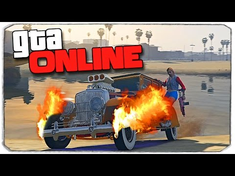GTA Online: КРАШ-ТЕСТ МАШИНЫ МАФИИ!