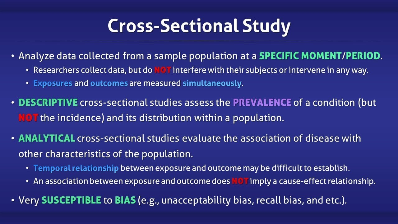 Cross-sectional study - Wikipedia