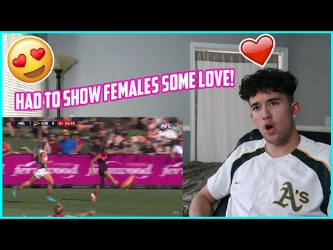 American Guy Reacts to AFLW for the First Time! 2018 AFLW Highlights