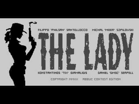 The Lady (Atari 8-bit homebrew game)