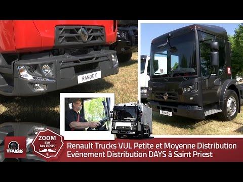 Renault Trucks VUL Petite et Moyenne Distribution