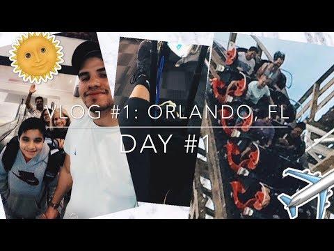 VLOG 1 // Orlando, FL // Airports, Venezuelan food, Park & Outlets!