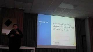 Design Tips For Complex Forms by Caroline Jarrett (Effortmark) - Malta 2012