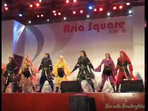 【Strawberry Alice】Shanghai World Expo 2010: Syrian Damascus Folk Dance, Asia Square, 17/10/2010.