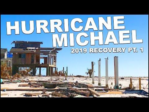Mexico Beach Florida - Hurricane Michael Recovery 2019 - PT 1