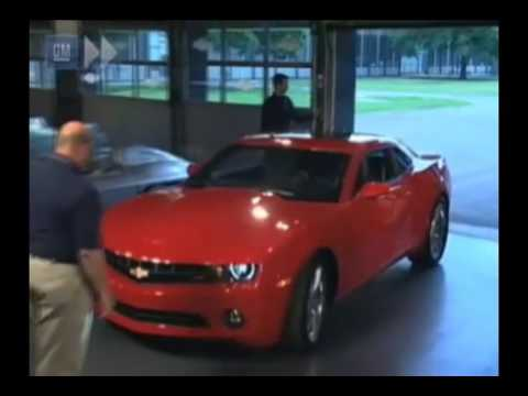 Camaro 2009 Reveal Fifth Generation Youtube
