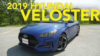 2019 Hyundai Veloster Review смотреть