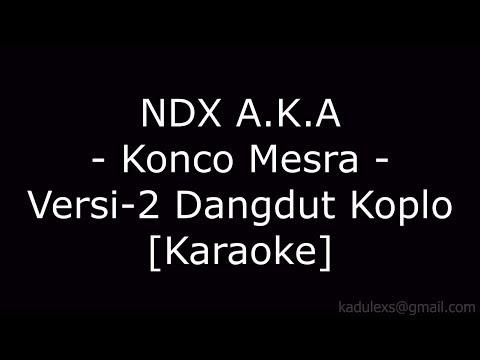 NDX A.K.A - Konco Mesra Versi 2 (Cover Dangdut Koplo Karaoke  No Vokal)|