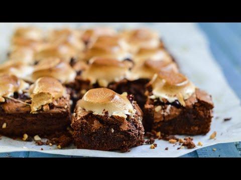 rocky road brownies recept