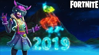Fortnite New Year's Event Countdown + New DJ Bop Skin Gameplay! (Happy New Year 2019)