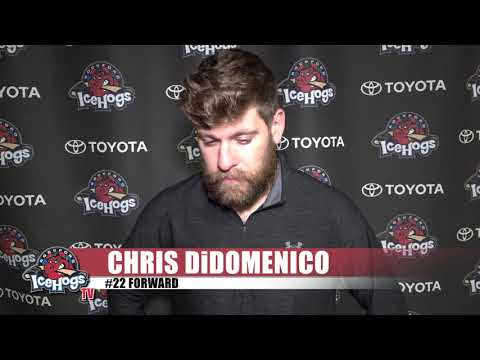 2018 IceHogs Exit Interview: Chris DiDomenico