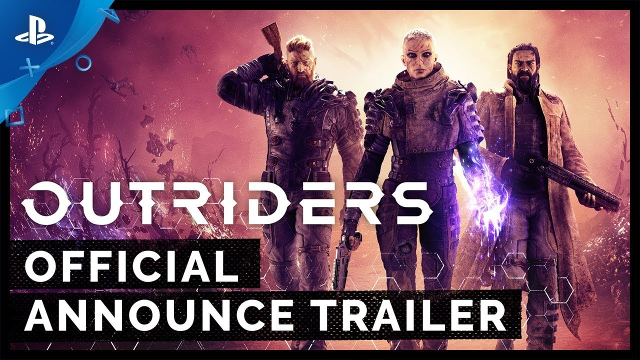 Outriders - E3 2019 Announce Trailer
