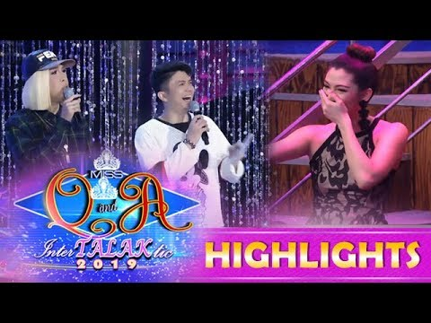 It's Showtime Miss Q & A: Vice catches Nicole leaving It's Showtime