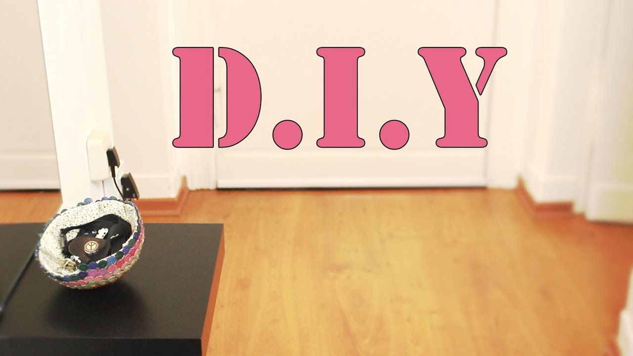AuBergewohnlich Deko D.I.Y Eine Schüssel Aus Knöpfen *Knöpfe! Kleber! Luftballon!*   YouTube