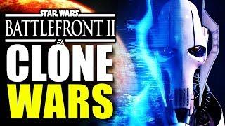 CLONE WARS DLC, CONQUEST MODE, GEONOSIS - (Grievous and Dooku!) - Huge Battlefront 2 News Update!