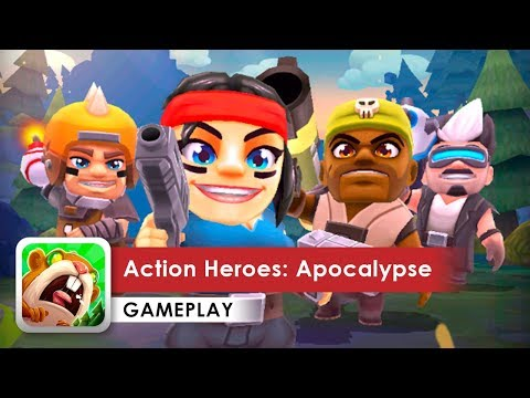 Action Heroes: Apocalypse Gameplay HD (Android) by KingsIsle Entertainment, Inc |