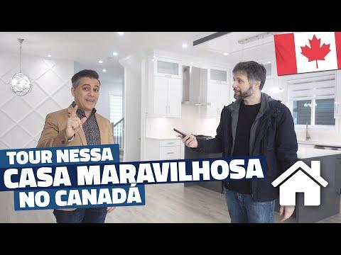 TOUR POR ESSA CASA MARAVILHOSA NO CANADÁ - QUANTO CUSTA ESSA CASA ENORME NO CANADÁ?