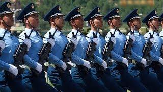 学霸方队首秀阅兵场以多普勒效应解释训练 | CCTV