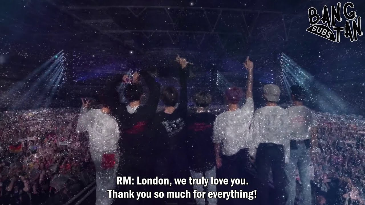 [ENG] 200831 [PREVIEW] BTS (방탄소년단) 'LOVE YOURSELF : SPEAK YOURSELF in LONDON' DVD SPOT