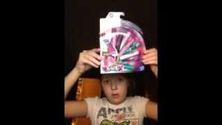 Видео обзор на пульки для оружия для девочек.