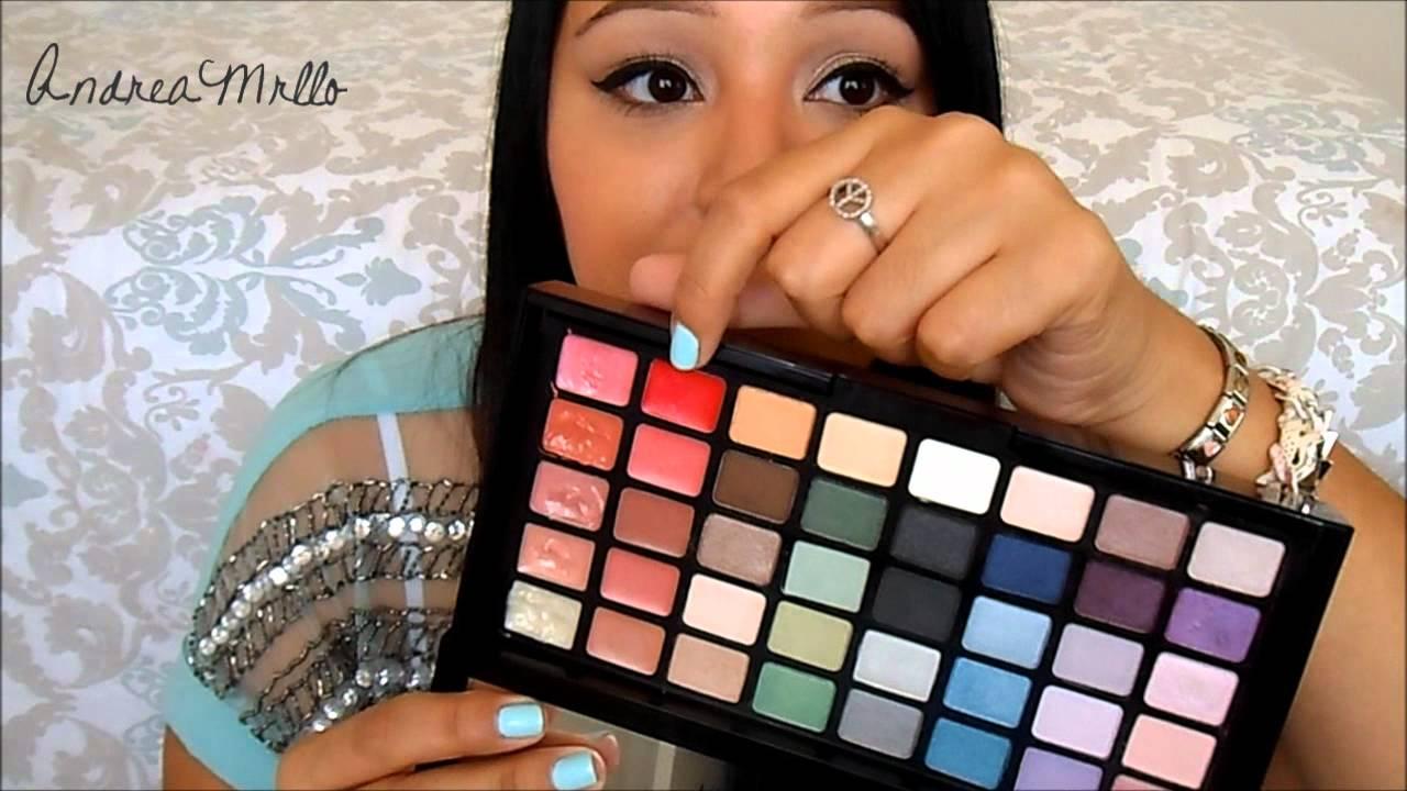 Victorias Secret Hello Bombshell Makeup Kit Youtube