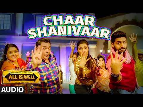'Chaar Shanivaar' Full AUDIO Song - Badshah | Vishal, Amaal Mallik | All Is Well