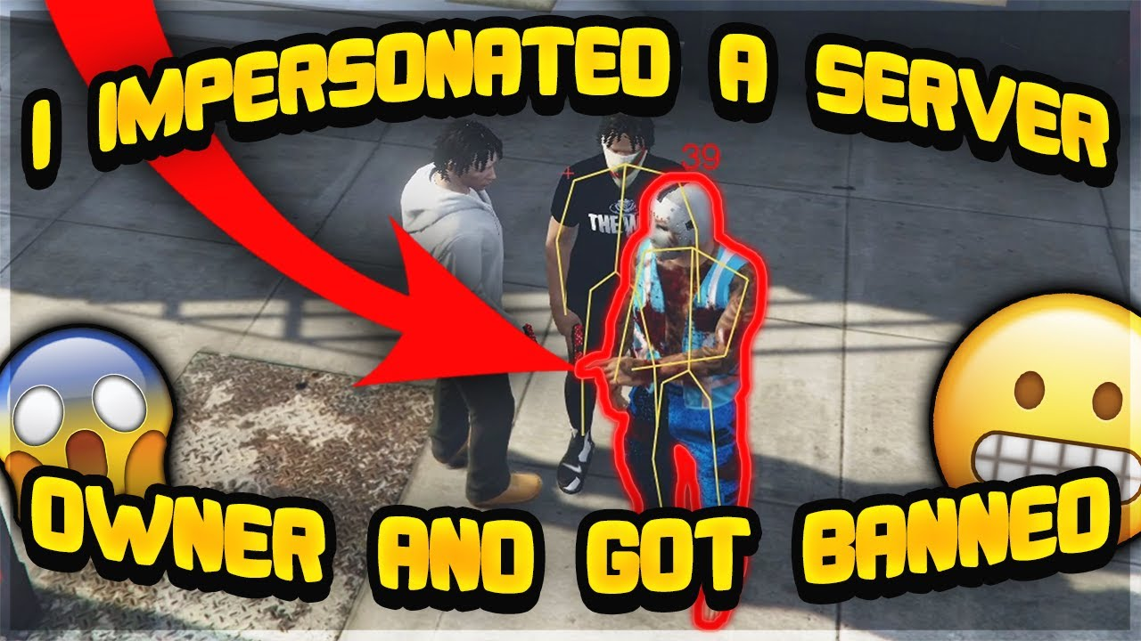 I IMPERSONATED A SERVER OWNER AND GOT BANNED (GTA 5 RP)