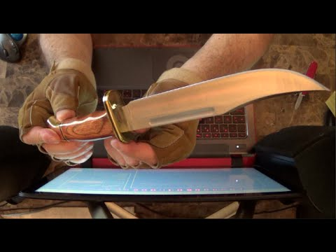 Buck 120, Unboxing And Review * Great Knife * How To Check Sharpness