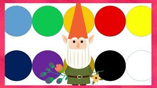 Nice colors kids music | Kid song learn colors | CH Kid Smile 51