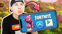 ICH TESTE FORTNITE AUF DEM HANDY! + Download