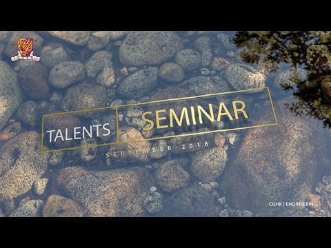 TALENTS Seminar Series: Get Started for New Academic Year
