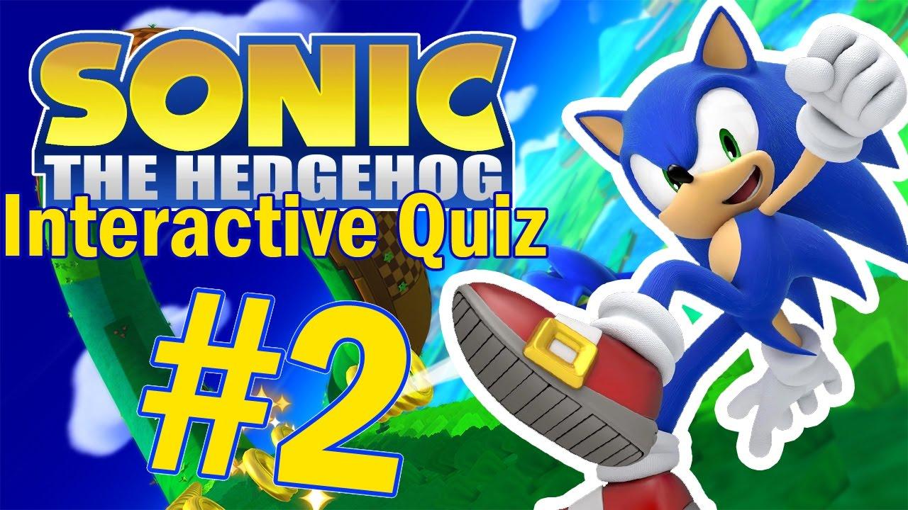 Sonic The Hedgehog Interactive Quiz 2 Youtube
