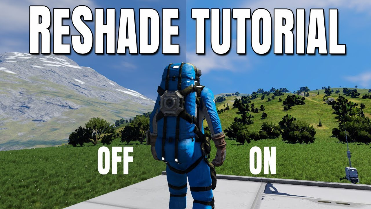 ReShade Tutorial 2019 - Shader Injector / FPS Overlay - Set Up How To