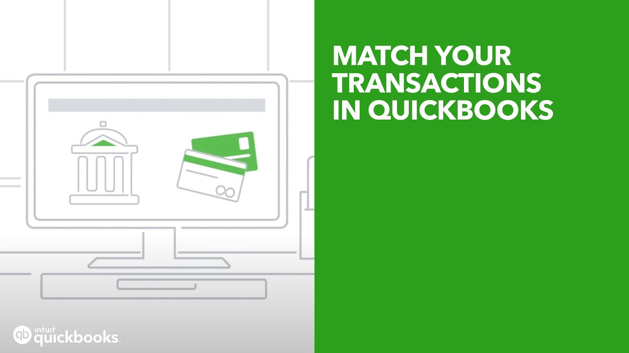 Add and match downloaded bank transactions [Video