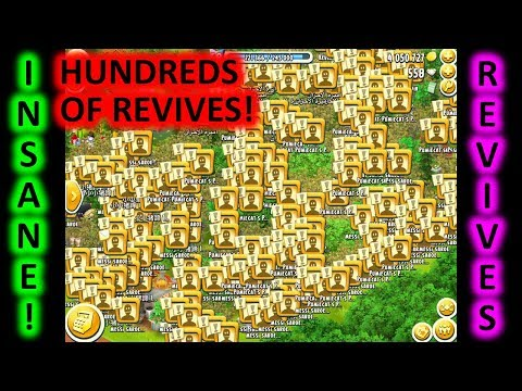 HAY DAY - HUNDREDS OF REVIVES, INSANE! 4 MILLION COINS!!! Mp3