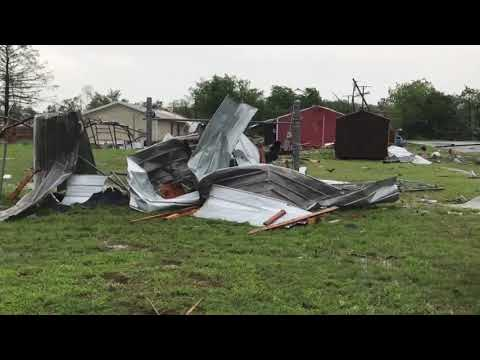 WOAI Breaking News - Storm damage in Franklin, Texas
