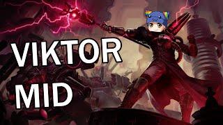 League of Legends - Viktor Mid - Full Gameplay Commentary