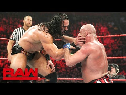 Kurt Angle vs. Drew McIntyre: Raw, Nov. 5, 2018