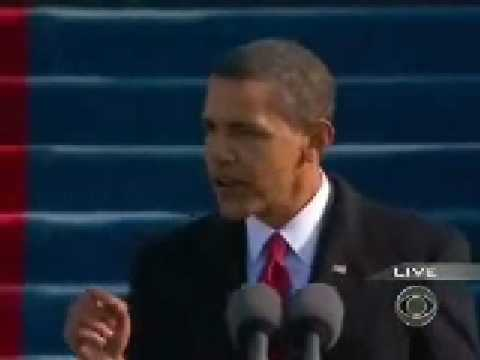 Barack Obama Inauguration Speech