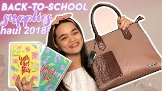 BACK-TO-SCHOOL SUPPLIES HAUL 2018! (NBS, Mumuso, Landmark) Philippines | Monica Garcia ♡