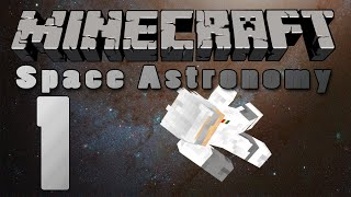 Minecraft: Space Astronomy- Episode 1: Let the Tree Punching Commence!