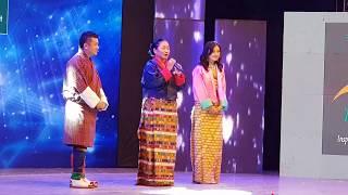 Madam Dechen Pem Live at Grand Finale Voice of Season 1 2018